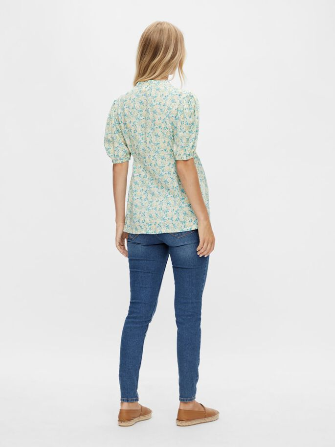 MLBLANCH 2-I-1 VENTE-TOP, Frosty Green, large