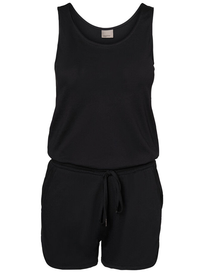 SUMMER PLAYSUIT, Black, large