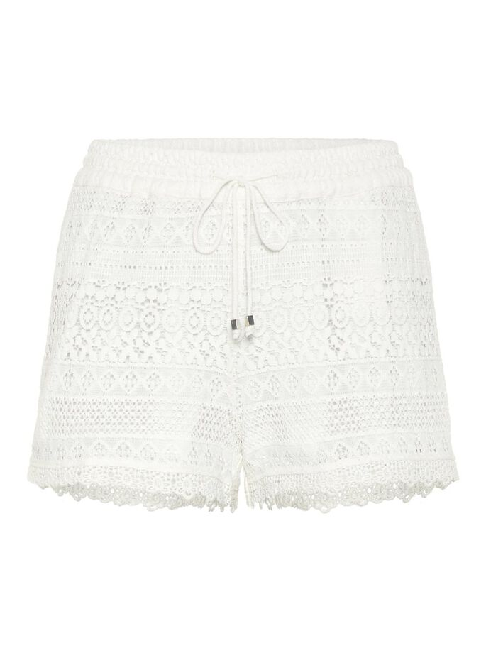 LACE SHORTS, Snow White, large