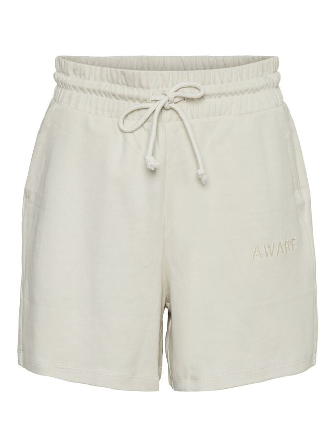 TAILLE HAUTE SHORT, Birch, large