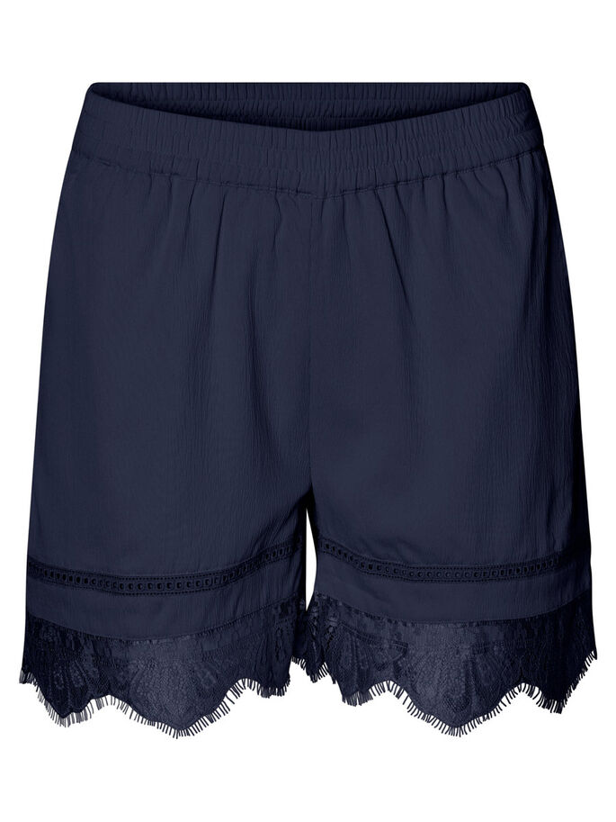NW LACE SHORTS, Navy Blazer, large