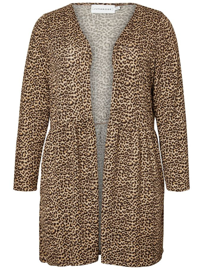 be01125e LEOPARD PRINTED CARDIGAN. 499,95 kr ...