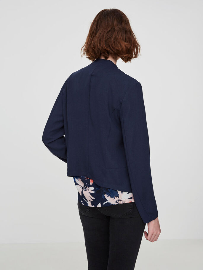 CASUAL BLAZER, Navy Blazer, large