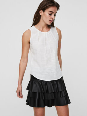 FEMININE SLEEVELESS TOP