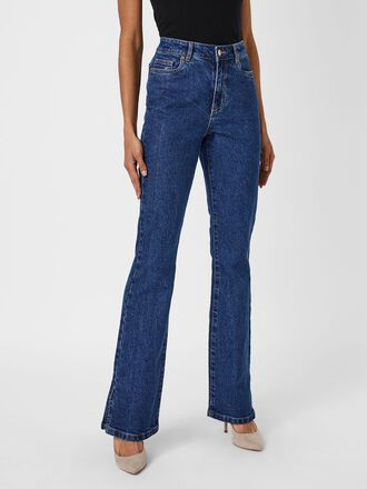 VMSELMA HIGH WAIST FLARED JEANS