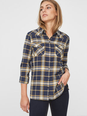 CHEQUERED LONG SLEEVED SHIRT