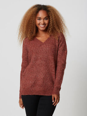 LONG SLEEVED KNITTED PULLOVER