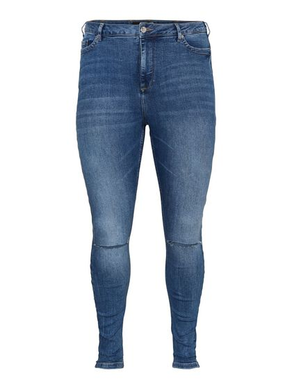 VMLORAEMILIE HIGH WAISTED SKINNY FIT JEANS