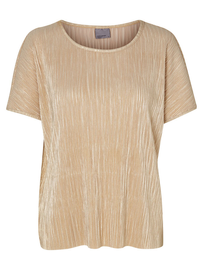 MM/VM SHORT SLEEVED TOP, Gold Colour, large