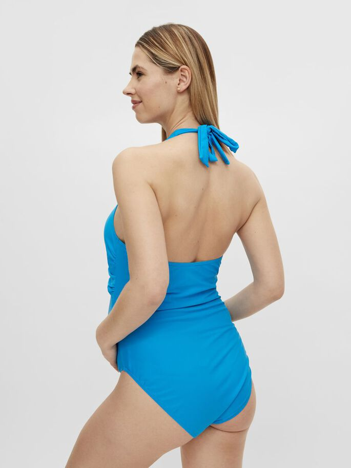 MLLAURA MATERNITY SWIMSUIT, Blue Aster, large