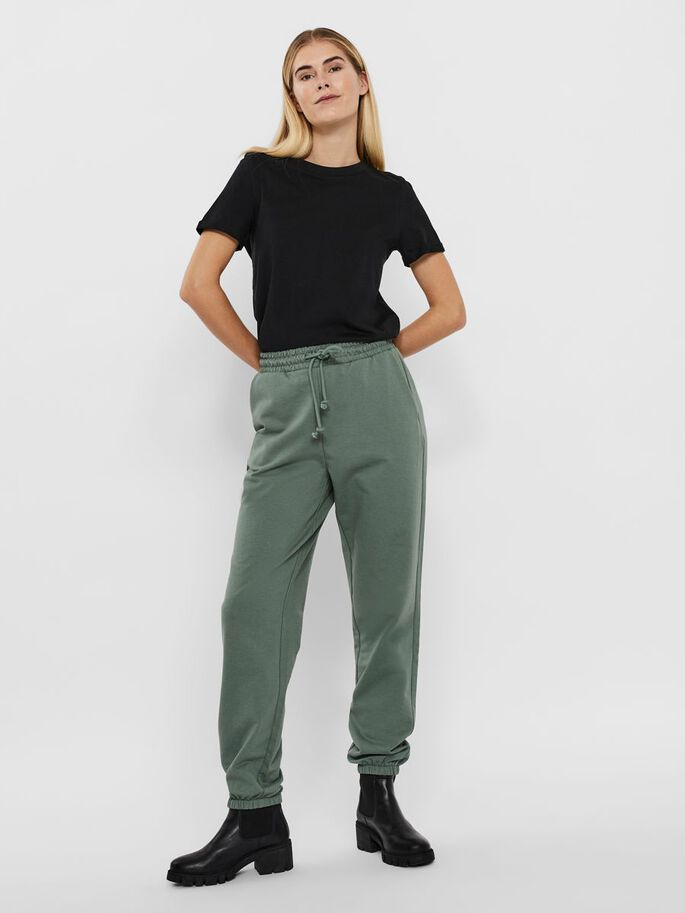HIGH WAISTED SWEATPANTS, Laurel Wreath, large