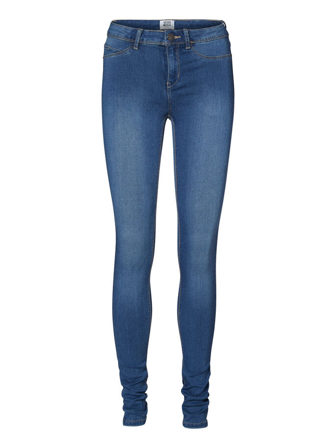 STRETCHIGA JEGGINGS, Medium Blue Denim, large