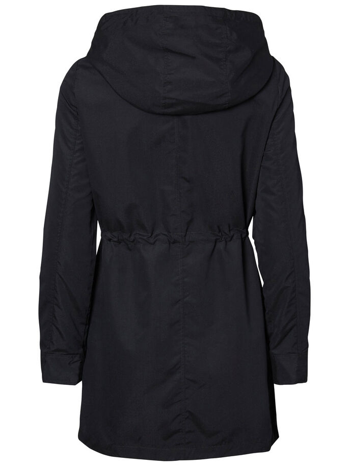 LÄSSIGER PARKA, Black, large