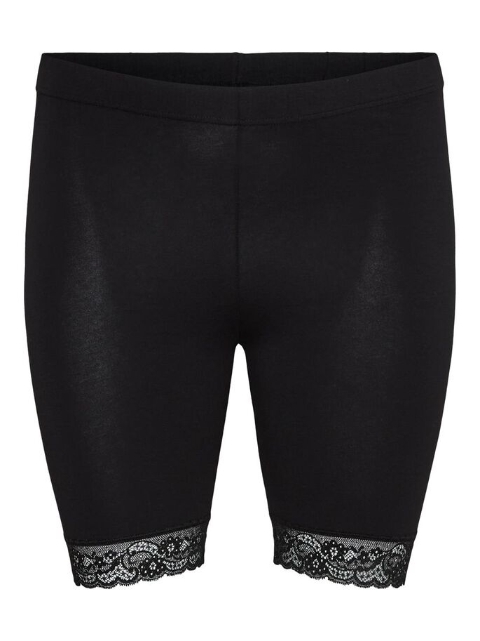 CYCLE SHORT, Black, large