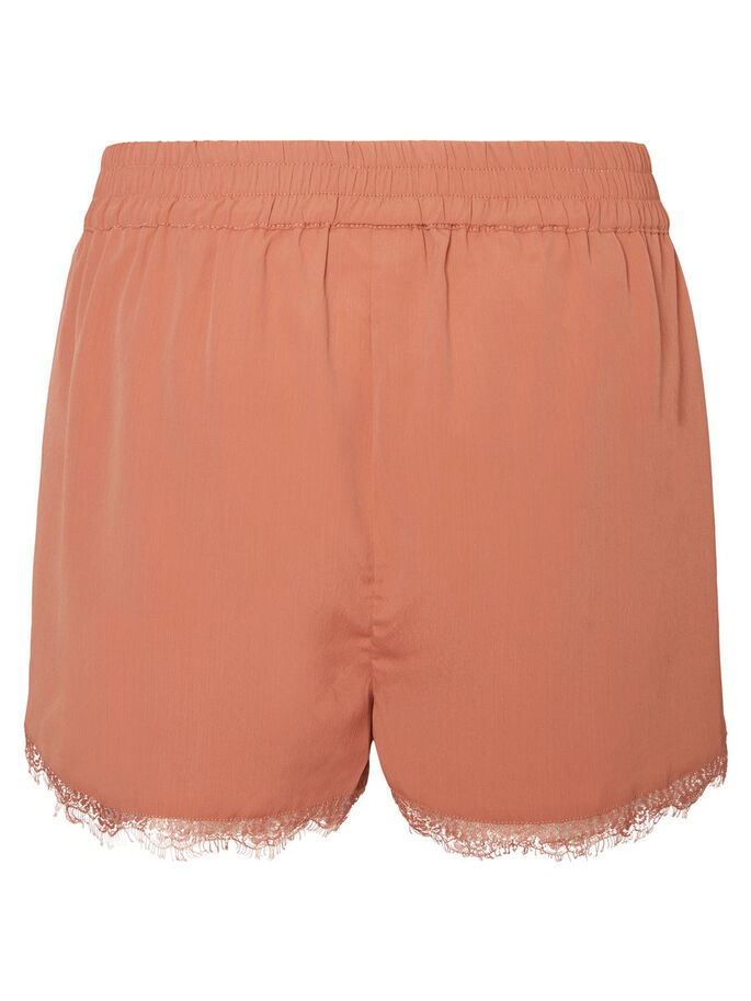 DENTELLE SHORTS, Cedar Wood, large