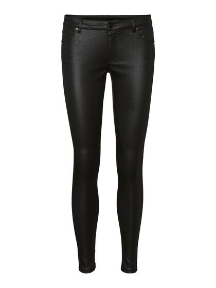 VMLYDIA LOW WAIST COATED SKINNY FIT JEANS