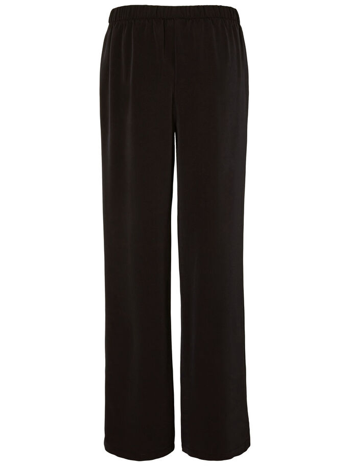 LOOSE-FIT- HOSE, Black, large