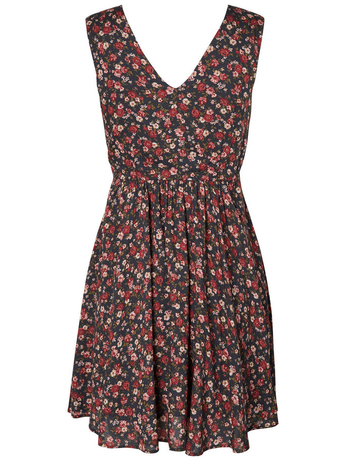 SUMMER SLEEVELESS DRESS, Asphalt, large