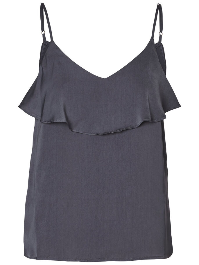 RUCHE SINGLET, Ombre Blue, large