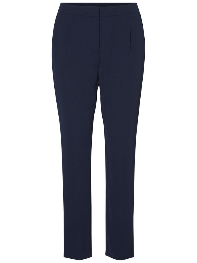 ANKLE TROUSERS, Navy Blazer, large