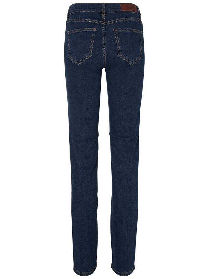 FIFTEEN NW STRAIGHT FIT-JEANS, Dark Blue Denim, large