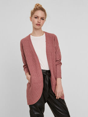 LONG SLEEVED KNITTED CARDIGAN