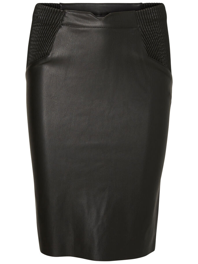 HW SKIRT, Black, large