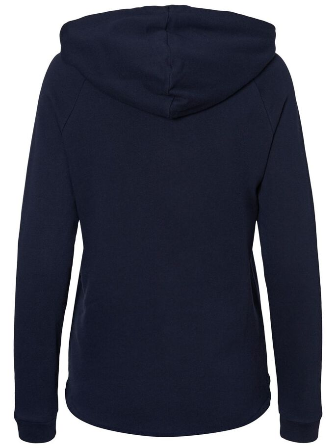 CASUAL SWEATSHIRT, Navy Blazer, large