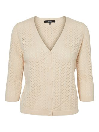 STRUTURE KNITTED CARDIGAN