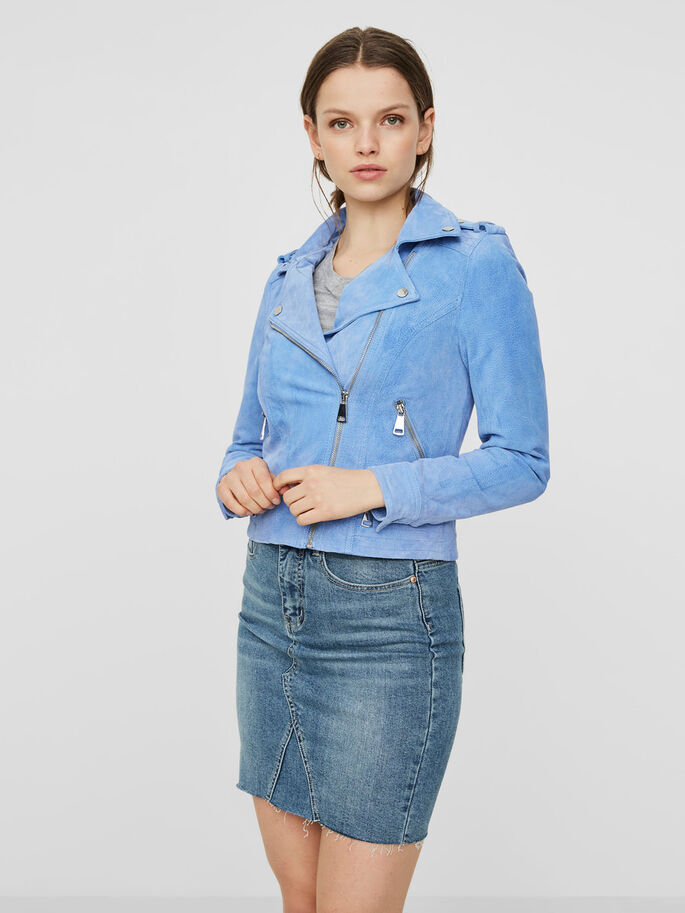 SUEDE JACKET, Allure, large