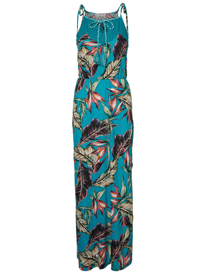 SUMMER MAXI DRESS, Viridian Green, large