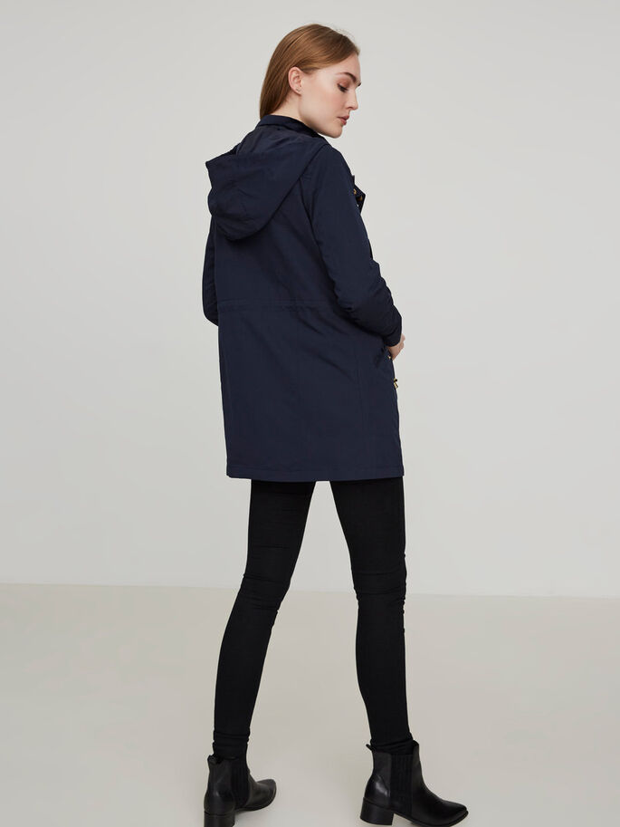 OVERGANGS PARKA, Navy Blazer, large