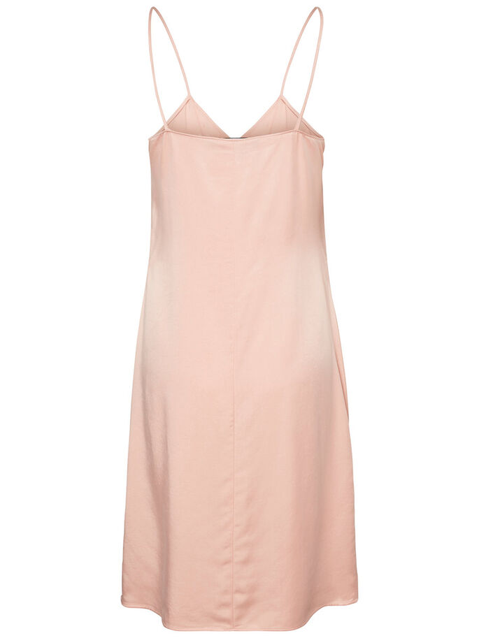MM/VM SLEEVELESS DRESS, Coral Cloud, large