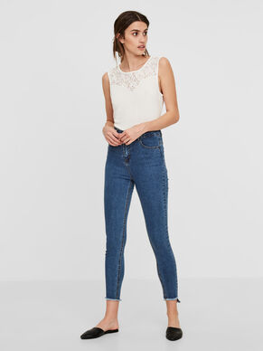 SKY HW ANKLE SKINNY FIT JEANS