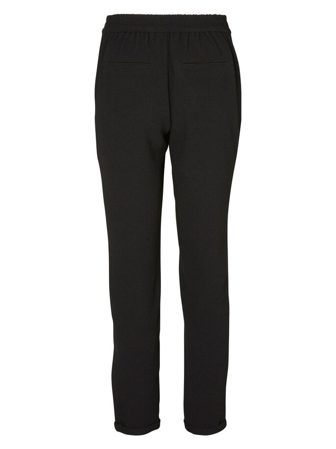TAILLE NORMALE PANTALON, Black, large