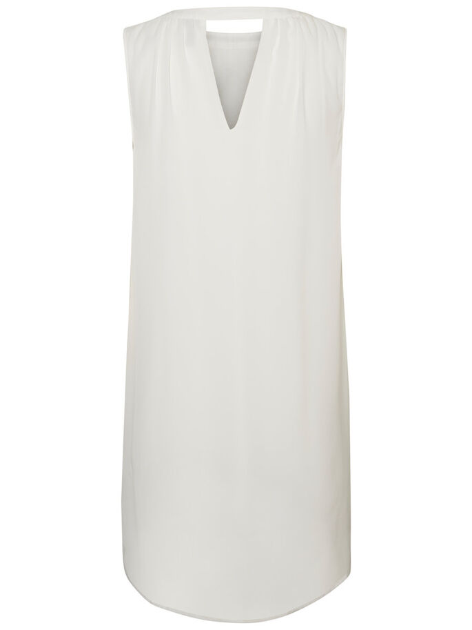 DETAILED SLEEVELESS DRESS, Snow White, large