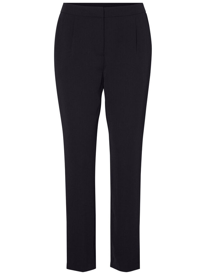 ANKLE TROUSERS, Black Beauty, large