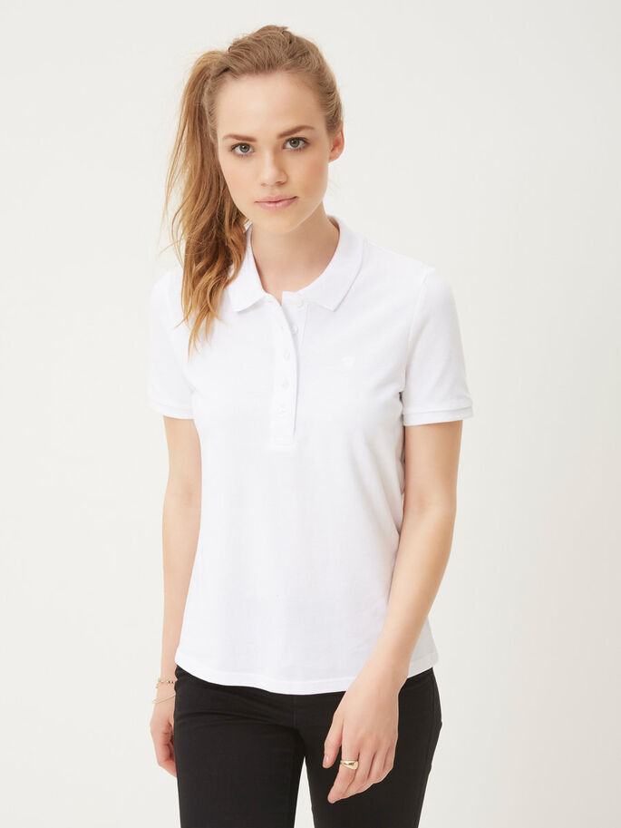 SHORT SLEEVED SHIRT, Bright White, large
