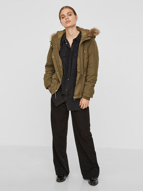 SHORT WINTER PARKA COAT
