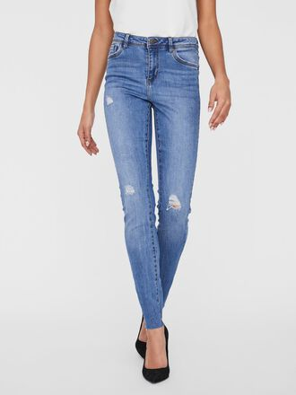 VMTANYA REGULAR WAIST SLIM FIT JEANS
