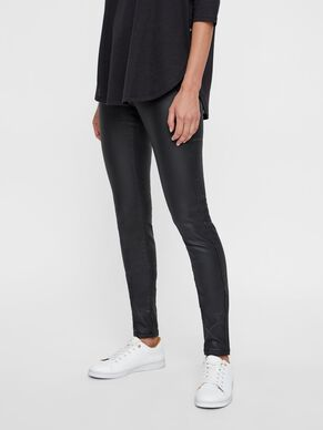 EVE LW COATED TROUSERS