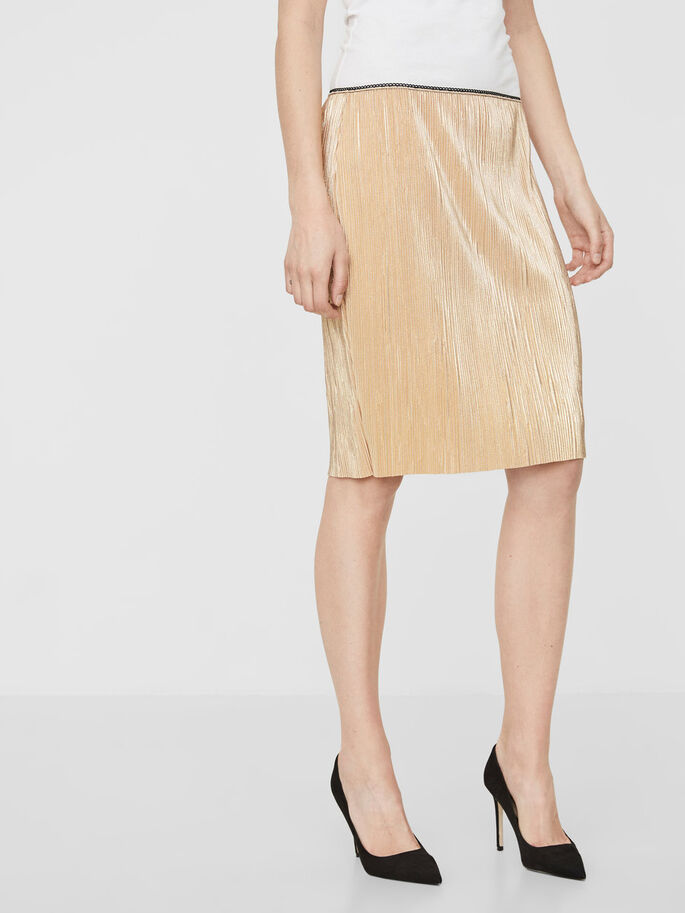 MM/VM SKIRT, Gold Colour, large