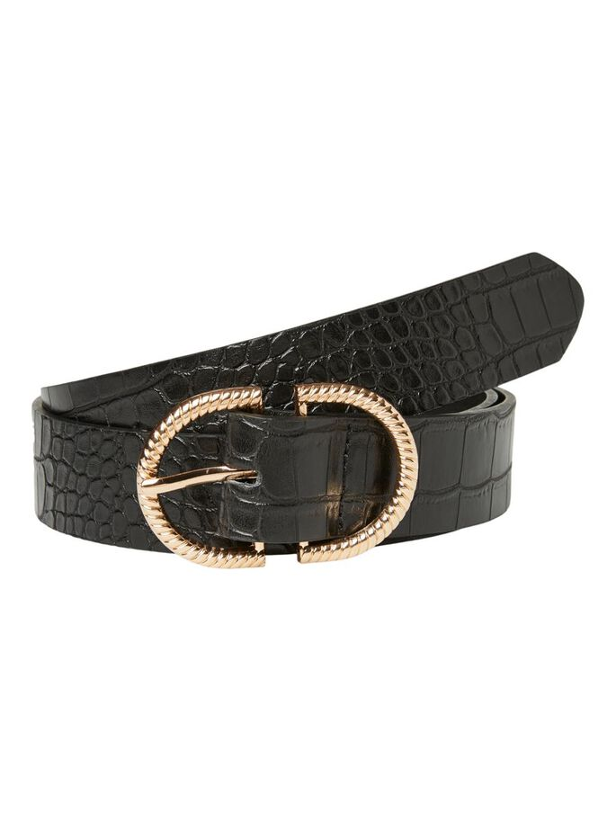 COATED BELT, Black, large