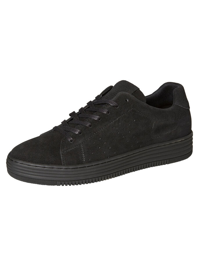 SUÈDE SNEAKERS, Black, large