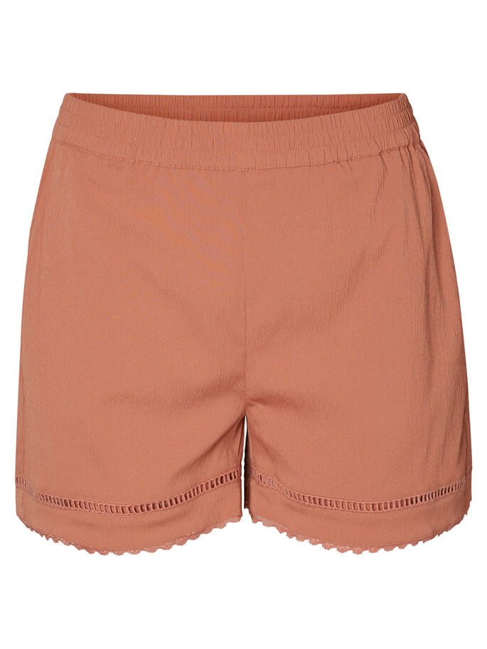 SPETSPRYDDA SHORTS, Cedar Wood, large
