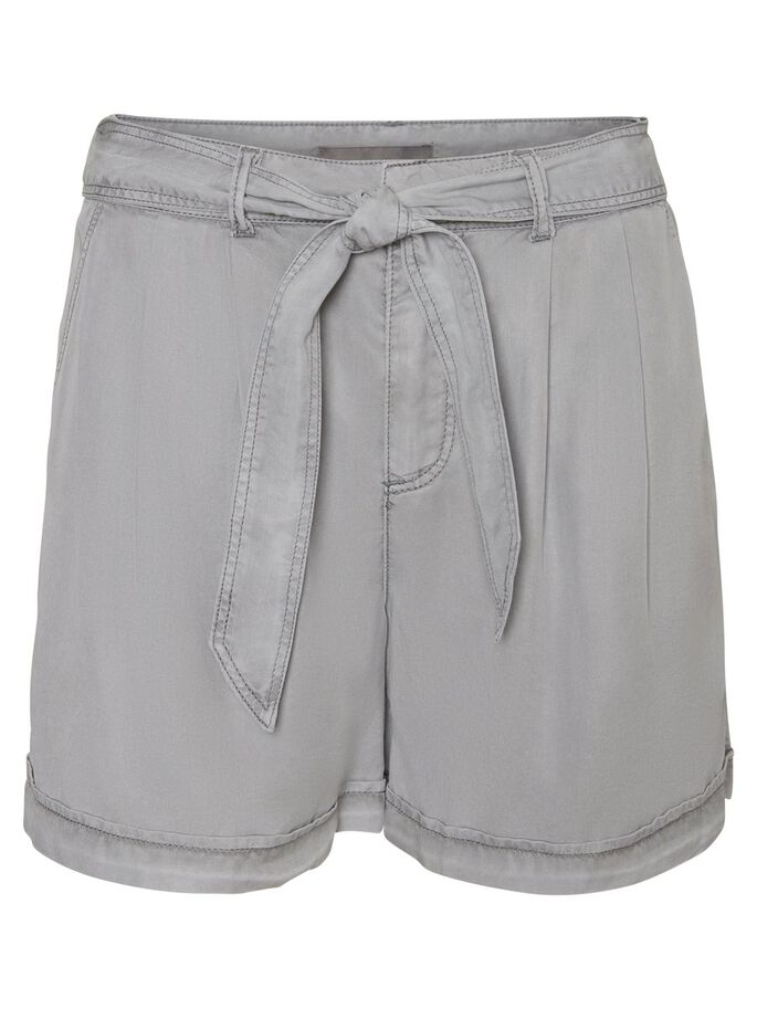 LYOCELL SHORTS, Ash, large