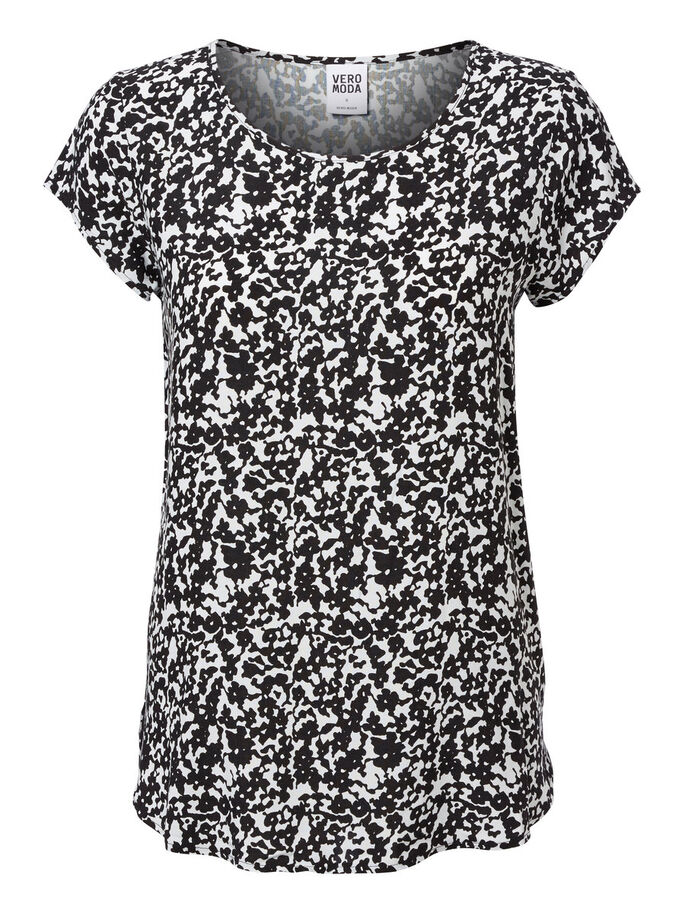 PRINTED SHORT SLEEVED TOP, Snow White, large