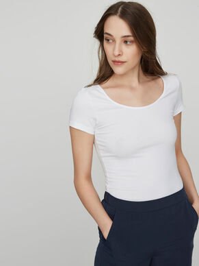 2-PACK BASIC SHORT SLEEVED TOP