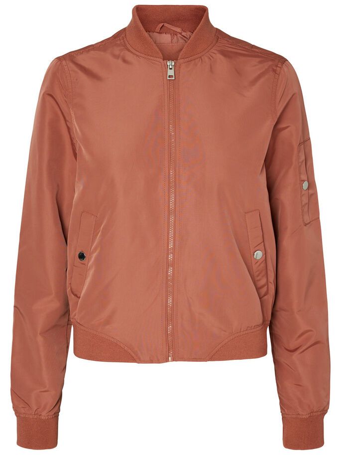 BOMBER VESTE, Cedar Wood, large