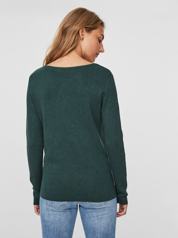 LÄSSIGER STRICKPULLOVER, Green Gables, large